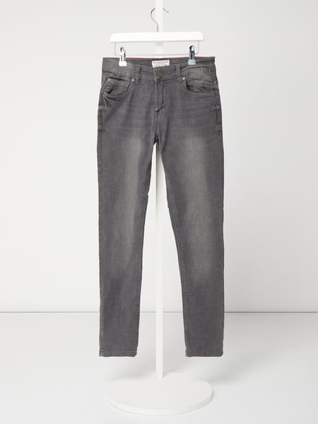 Review for Teens Stone Washed Slim Fit Jeans Grau / Schwarz - 1