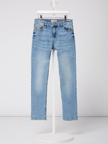 Review for Teens Stone Washed Straight Fit Jeans Blau / Türkis - 1