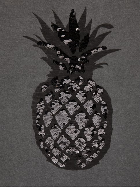 T-Shirt mit Ananas-Print Review for Teens online kaufen - 1