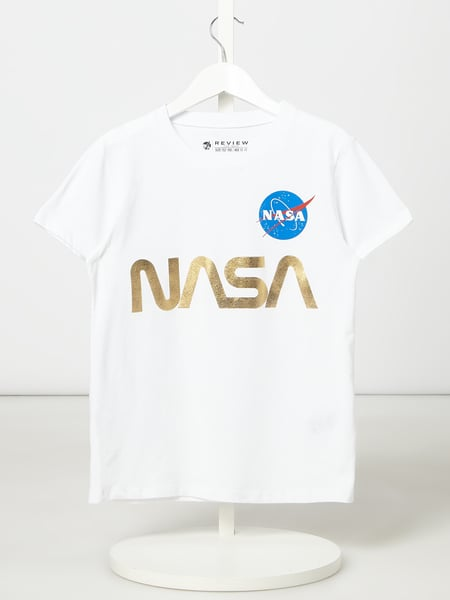 Review for Teens T-Shirt mit Nasa-Print Weiß - 1