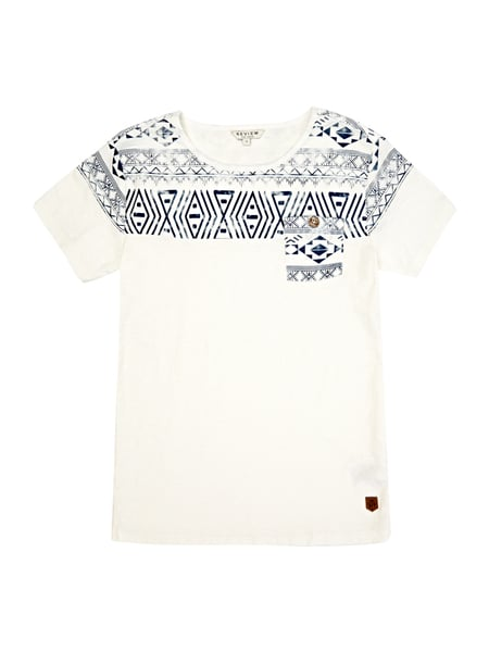 Review for Teens T-Shirt mit Print Weiß - 1