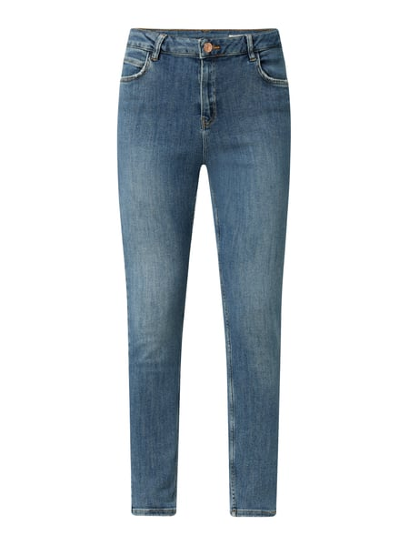 REVIEW High Waist Skinny Fit Jeans mit Stretch-Anteil Blau - 1