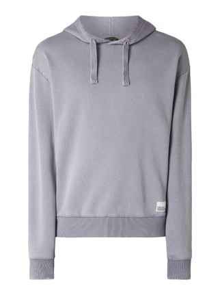 b60e04b28d7ca REVIEW Hoodie im Washed Out Look Grau   Schwarz - 1 ...