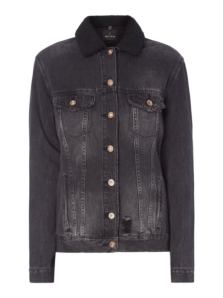 new styles b6837 15a2a Jeansjacke im Used Look