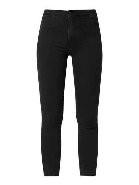 REVIEW Jeggings in hautenger Passform mit Stretch-Anteil Schwarz - 1
