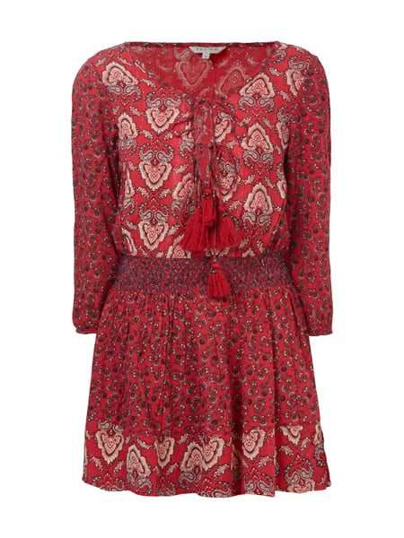REVIEW Kleid mit Paisleymuster Rot - 1