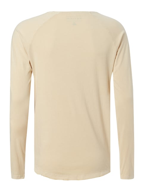 REVIEW Longsleeve im Washed Out Look Sand - 1