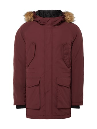 REVIEW Parka mit Fake Fur Lila - 1