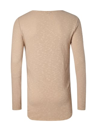 REVIEW Pullover aus Slub Knit Beige - 1