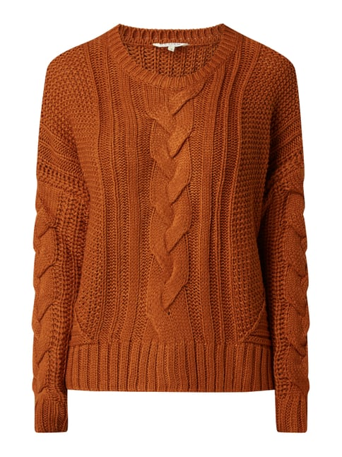 save off 5953a 85de6 Pullover mit Zopfmuster
