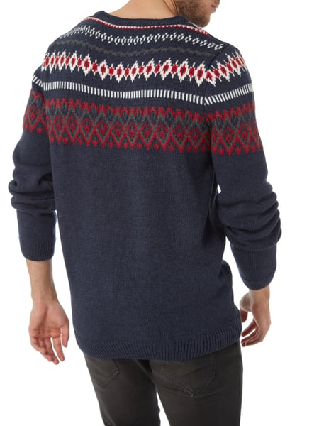reputable site 2d8d9 eba42 REVIEW Pullover mit Norweger-Muster