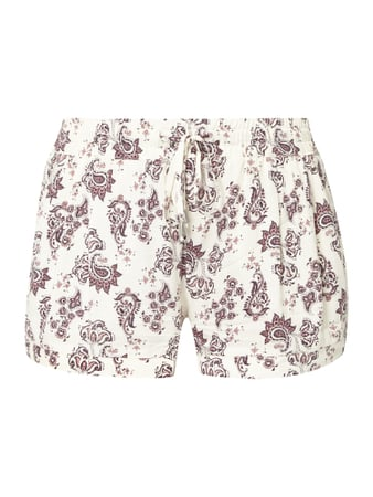 REVIEW Shorts aus reiner Viskose Weiß - 1