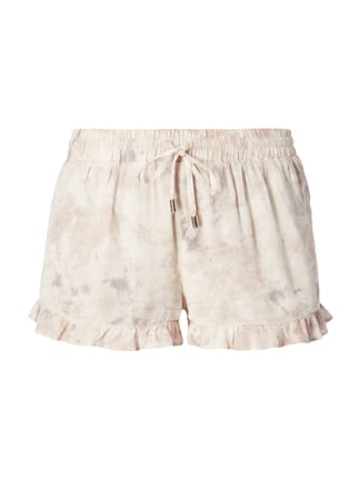 Shorts mit Allover-Muster Rosé - 1