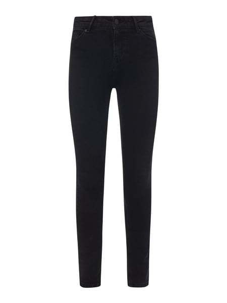 REVIEW Skinny Fit High Waist Jeans mit Stretch-Anteil Schwarz - 1