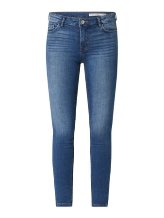 REVIEW Skinny Fit Jeans mit Stretch-Anteil Blau - 1