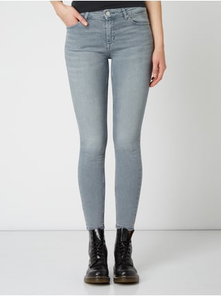 REVIEW Skinny Fit Jeans mit Stretch Anteil