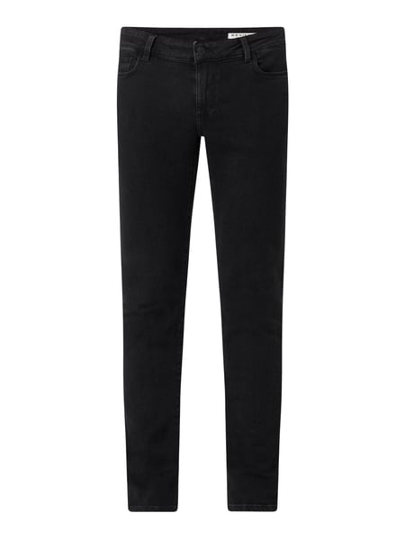 REVIEW Skinny Fit Jeans mit Stretch-Anteil Schwarz - 1