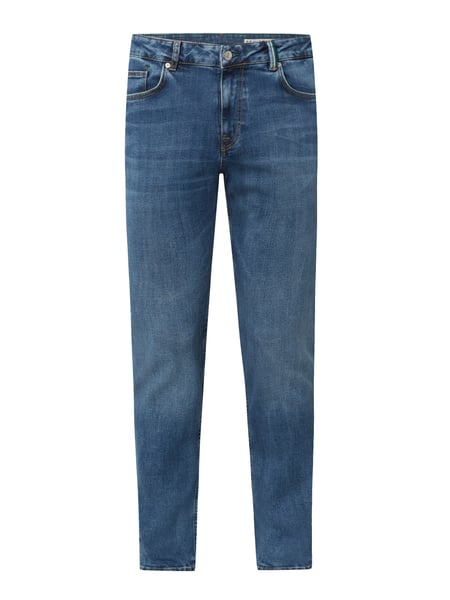 REVIEW Slim Fit Jeans mit Stretch-Anteil Blau - 1