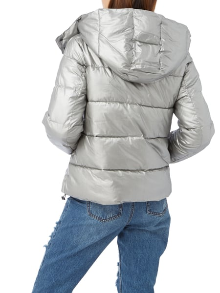 962672e871d9 Rückansicht von REVIEW - Fashionid-review in Silber - 1. Steppjacke in  Metallicoptik mit Wattierung REVIEW online ...