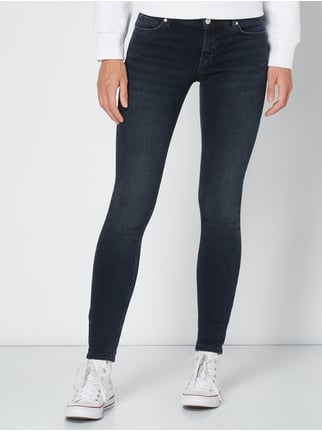 REVIEW Stone Washed Skinny Fit Jeans