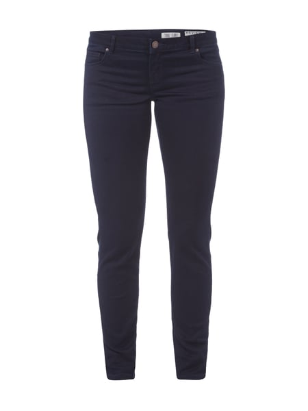 REVIEW Skinny Fit Jeans mit Stretch-Anteil Dunkelblau
