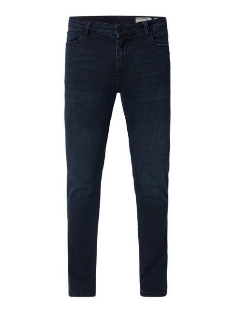 REVIEW Stone Washed Skinny Fit Jeans Grau   Schwarz - 1 ... 5781139a56