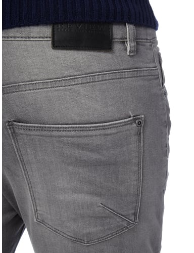 Stone Washed Slim Fit 5-Pocket-Jeans REVIEW online kaufen - 2