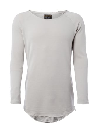 REVIEW Sweatshirt mit Zip-Details Grau - 1