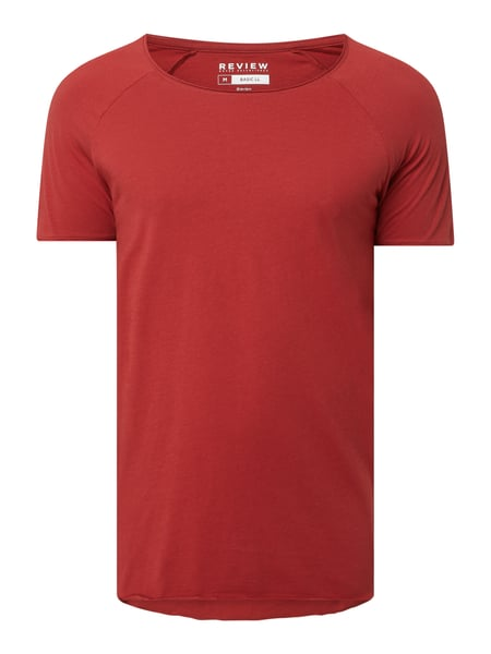 REVIEW T-Shirt aus Baumwolle Rot - 1