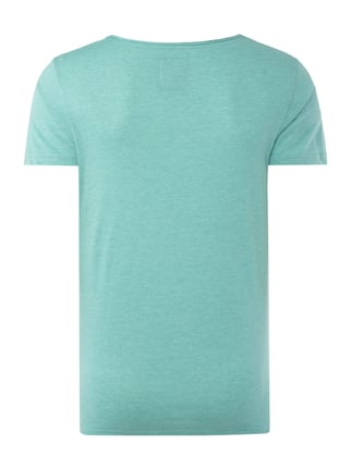 REVIEW T-Shirt aus Jersey - meliert Mint meliert - 1