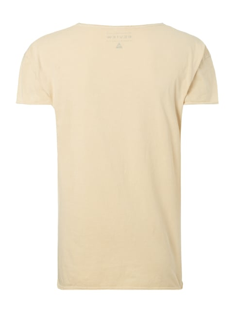 REVIEW T-Shirt mit Print Sand - 1
