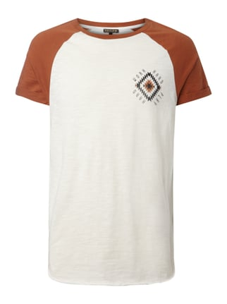 T-Shirt mit Raglanärmeln Orange - 1