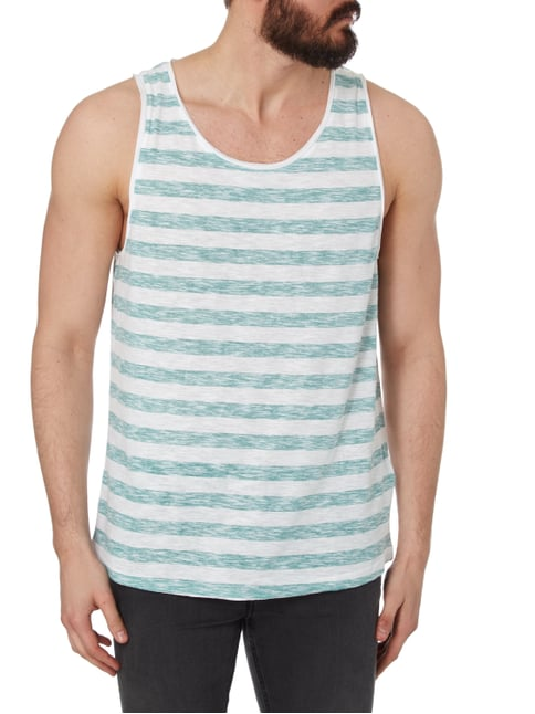 REVIEW Tanktop im Inside-Out-Look Mint - 1