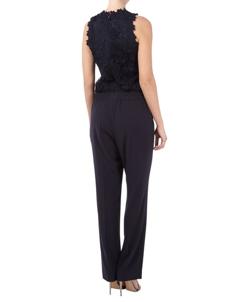 s oliver black label jumpsuit mit floraler h kelspitze in. Black Bedroom Furniture Sets. Home Design Ideas