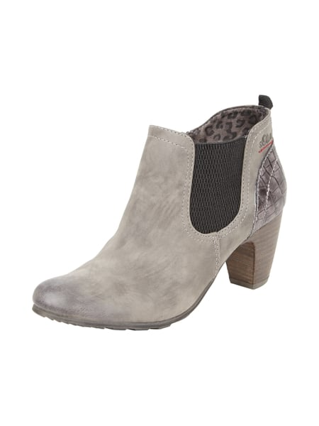 Ankle Fersenkappe S Oliver Optik Mit Kroko Label Boots Red In YW2beIEDH9