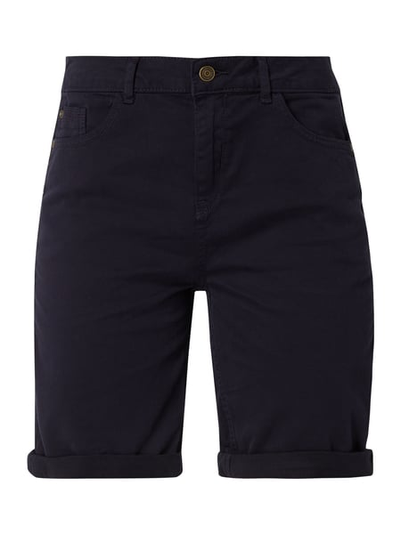 s.Oliver RED LABEL Bermudas mit Stickereien Blau - 1