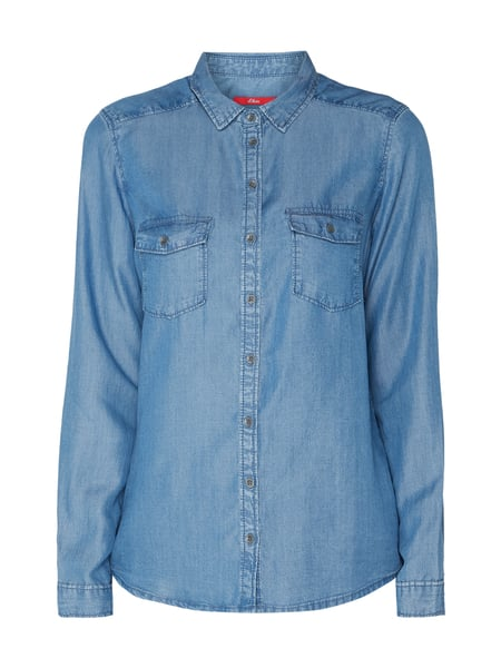 best cheap really cheap half price s.Oliver RED LABEL – Bluse aus Lyocell – Jeans