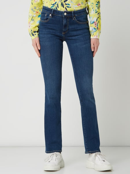 s.Oliver RED LABEL – Bootcut Slim Fit Jeans mit Stretch Anteil Modell 'Betsy' REPREVE® – Jeans
