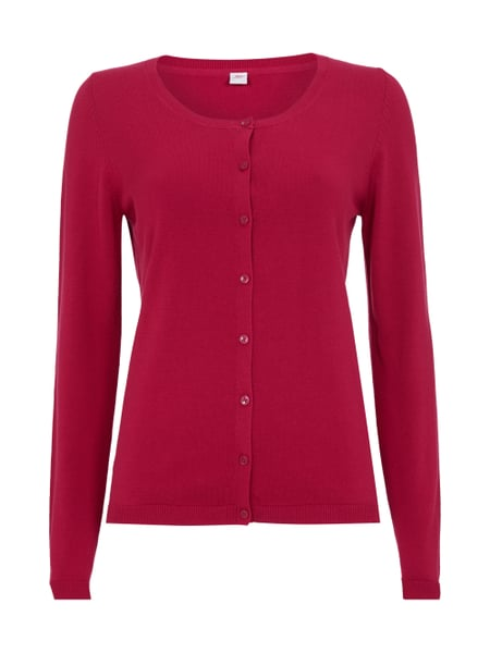 best supplier amazing selection new cheap S-OLIVER-RED-LABEL Cardigan mit Knopfleiste in Rosé online ...