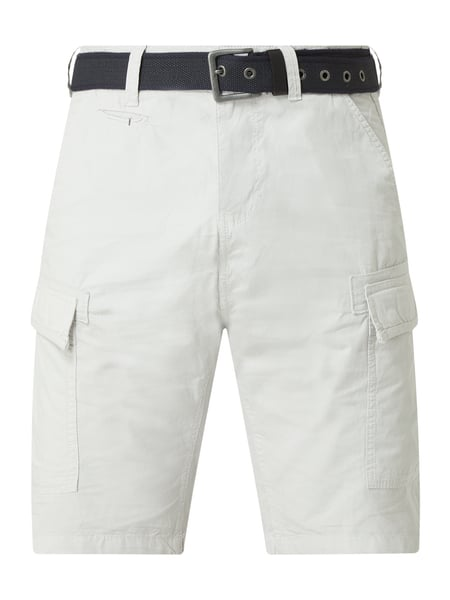 s.Oliver RED LABEL Cargoshorts aus Baumwolle Modell 'File' Grau - 1