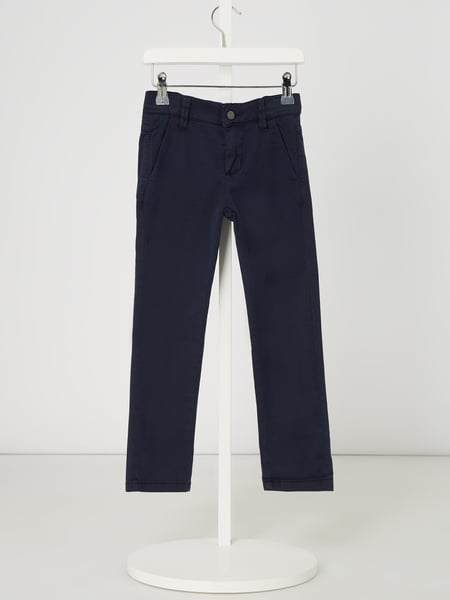 s.Oliver RED LABEL Chino mit Stretch-Anteil Blau - 1