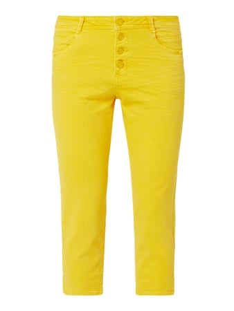 s.Oliver RED LABEL Coloured Regular Fit Caprijeans Gelb - 1