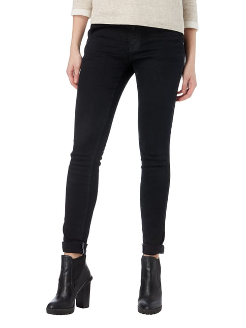 s.Oliver RED LABEL Coloured Shaped Super Skinny Fit Jeans Schwarz - 1