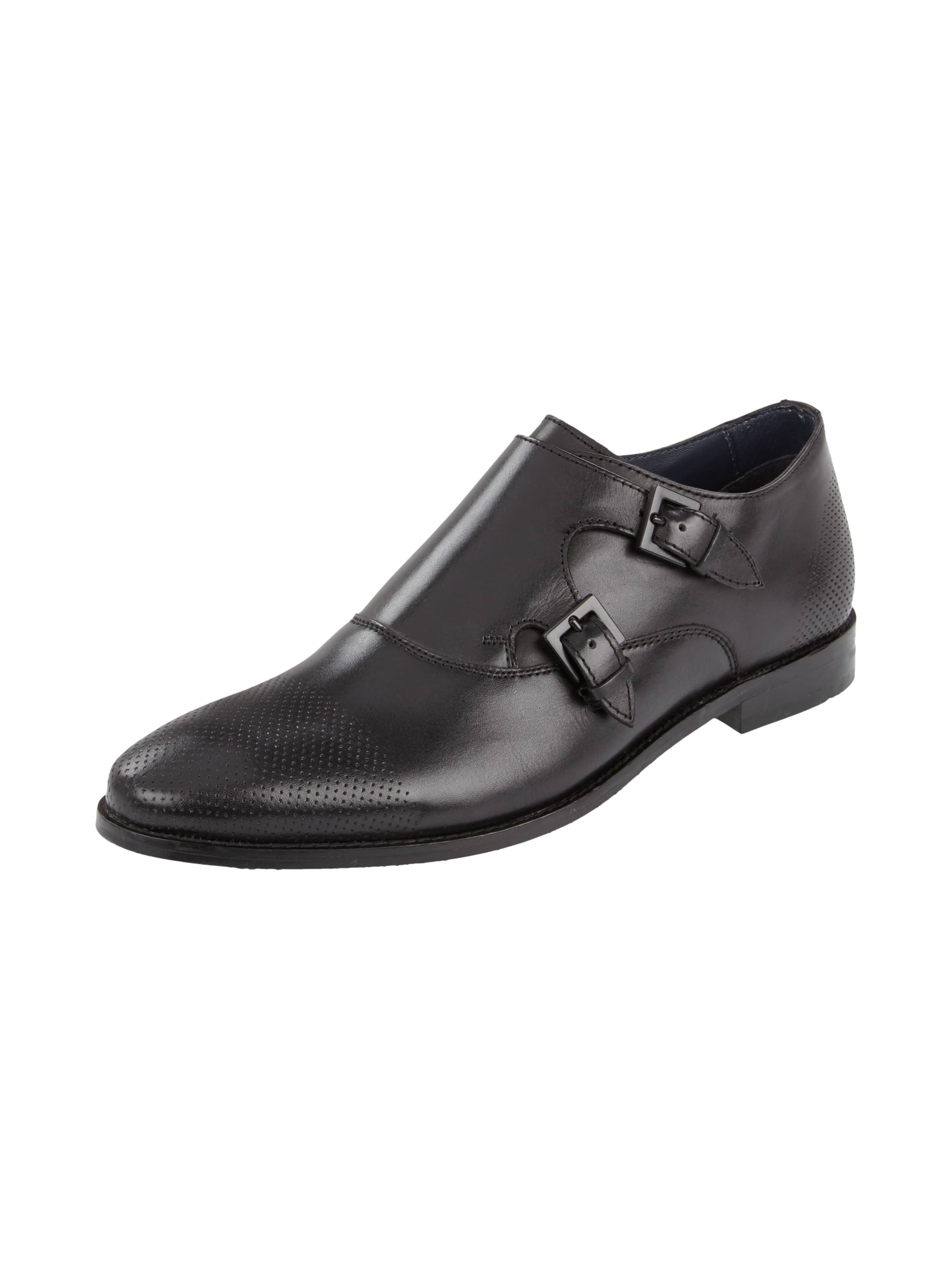 double monk straps aus echtem glattleder fashion id online shop. Black Bedroom Furniture Sets. Home Design Ideas