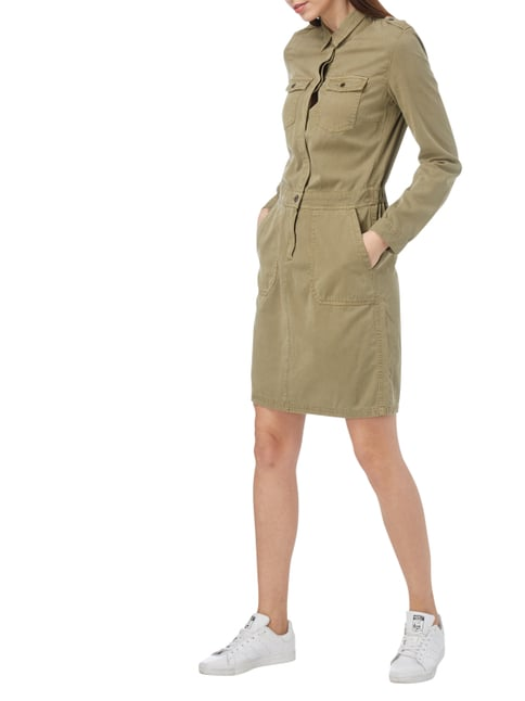 s.Oliver RED LABEL Kleid im Military-Look in Grün - 1