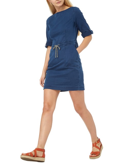 s.Oliver RED LABEL Kleid in Denimoptik in Blau / Türkis - 1