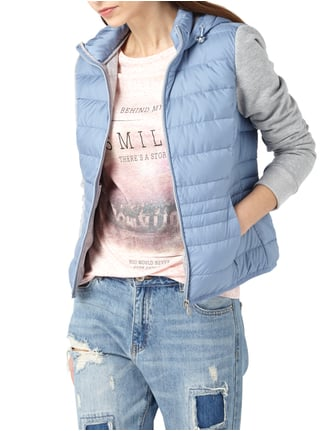s.Oliver RED LABEL Light-Daunenjacke mit Ärmeln aus Jersey Jeans - 1