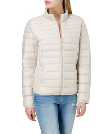 s.Oliver RED LABEL Light-Daunenjacke mit Steppungen Sand - 1