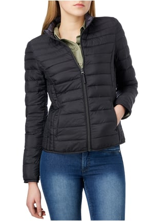 s.Oliver RED LABEL Light-Daunenjacke mit Steppungen Schwarz - 1