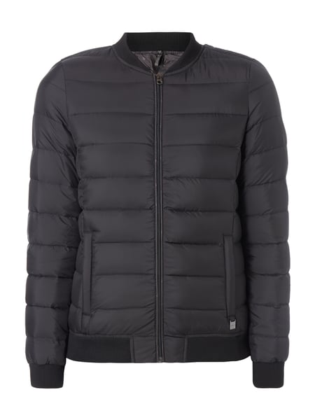 s.Oliver RED LABEL Light-Daunenjacke mit Steppungen Schwarz